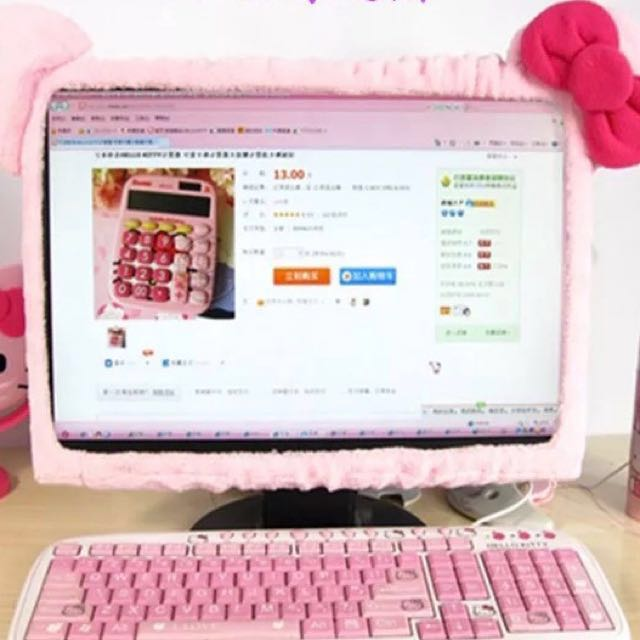 5aab747a7 Brand New Hello Kitty / My Melody / Pink Ribbon Monitor or Laptop ...