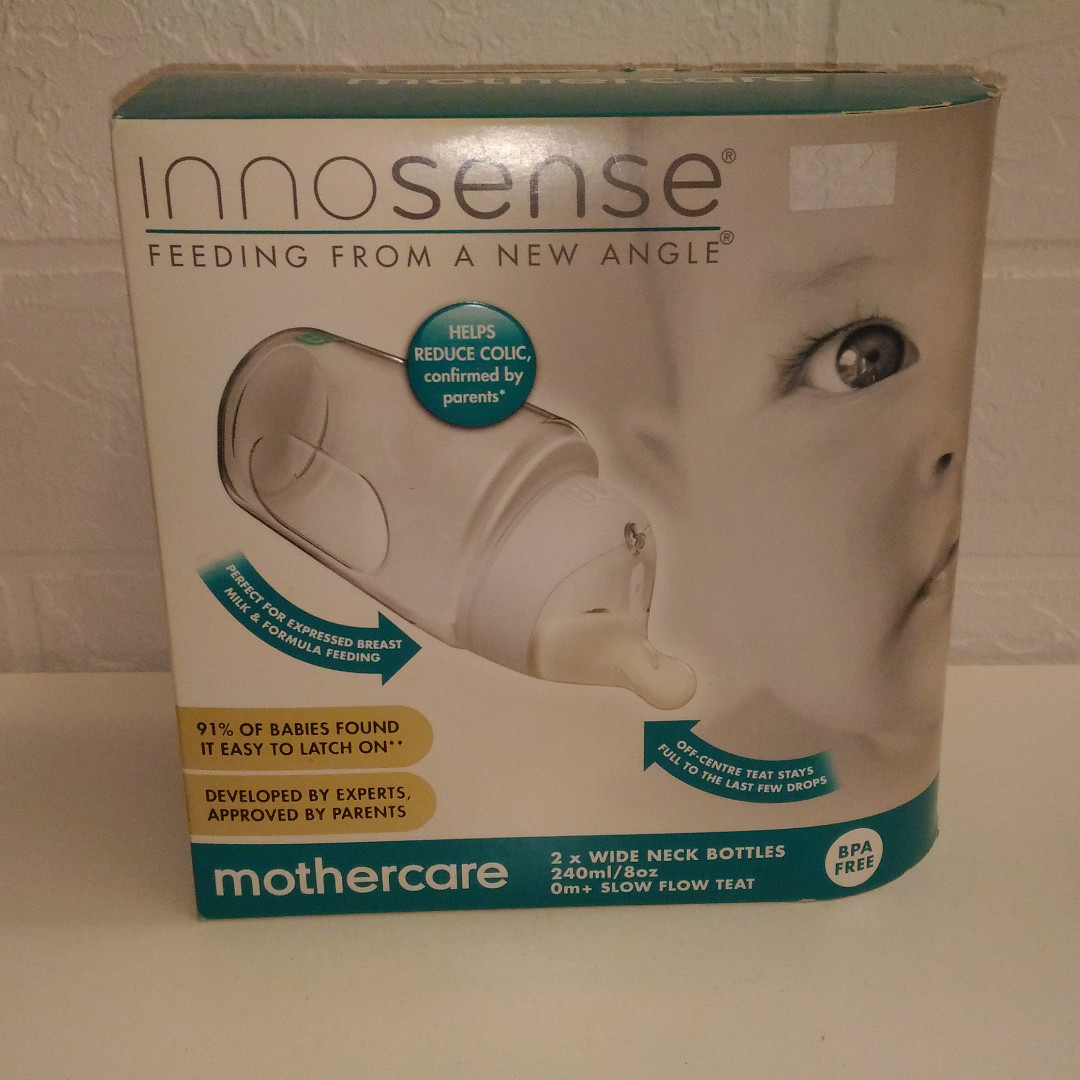 Brand New Mothercare Innosense Milk Bottles