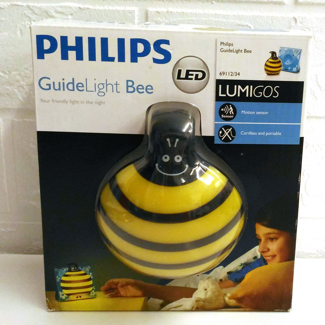 brand new philips guidelight bee babies kids toys walkers on rh sg carousell com Flying Bee Bee with Cash