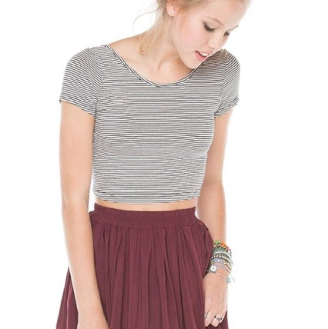 Brandy Melville Rouge Skirt
