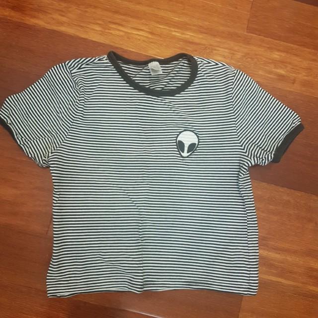 Brandy Melville top t shirt 6 8 tee