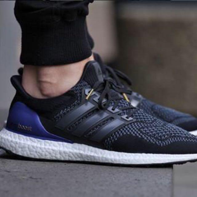 3a24bb7dc BST016 Adidas Ultra Boost Black  Blue Label