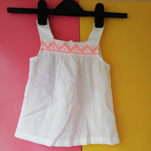 CARTER'S - Bandeu White Dress