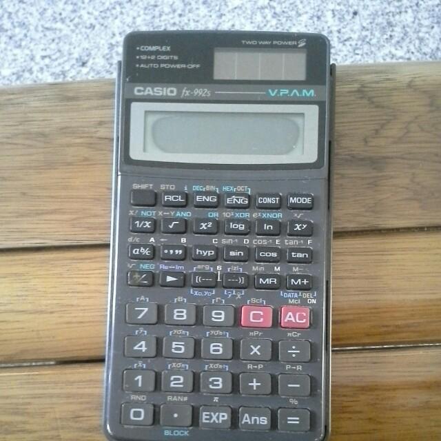 casio scientific calculator fx 992s books stationery stationery rh sg carousell com  casio fx-992s user manual pdf