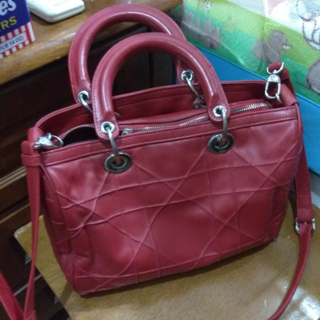 e633121c06b7 CD cannage bowling bag, Luxury, Bags & Wallets on Carousell