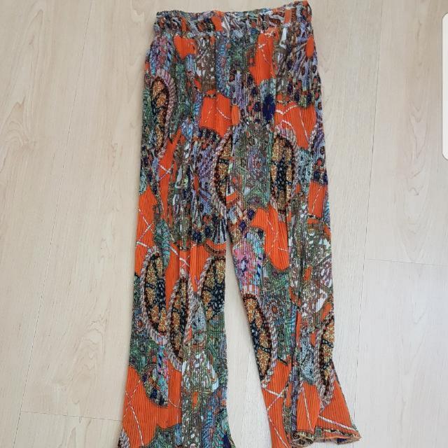 Celana Batik Orange Rampage