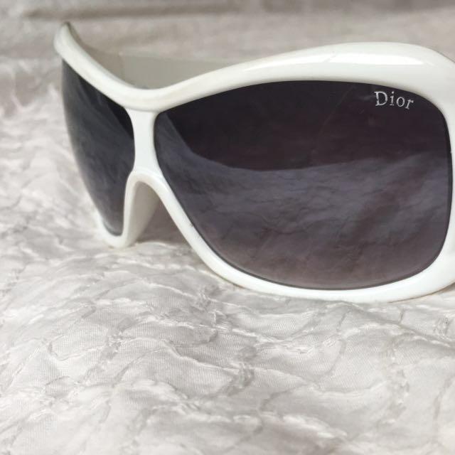 Christian Dior Sunglasses White