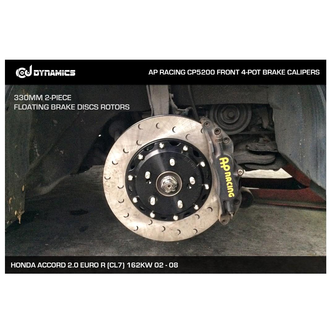 CJ DYNAMICS 330MM BRAKE DISCS ROTORS FOR AP RACING BRAKE