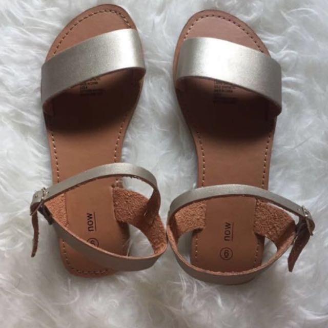 #CNY2018 Gold Sandals handcarry from Australia