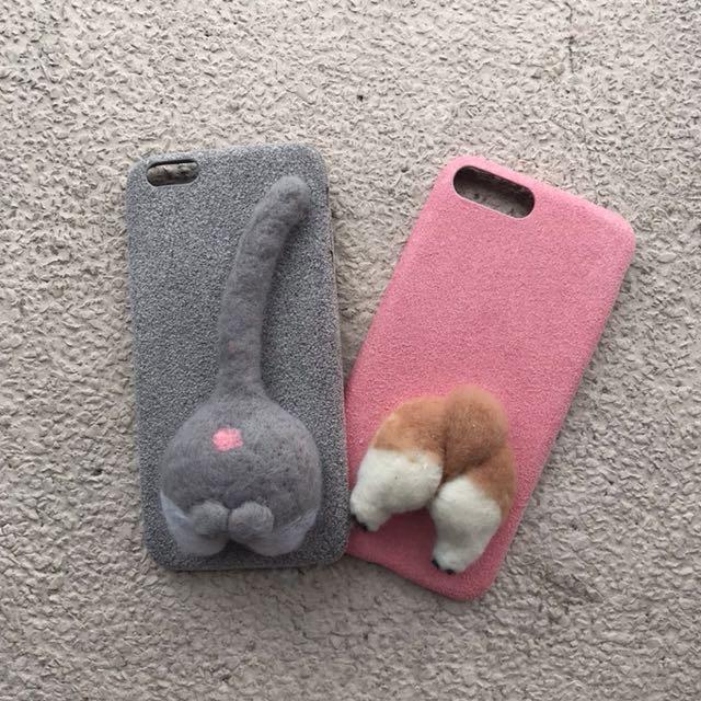 Corgi and Cat Iphone Case