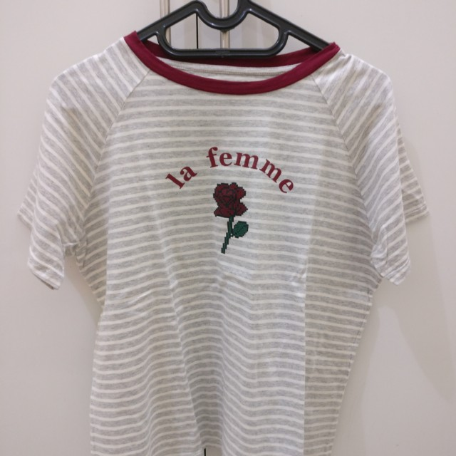 Cottonink Rose T-shirt