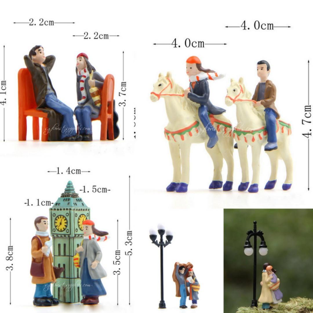Couple In Love-Human Figures Miniature Garden Decoration
