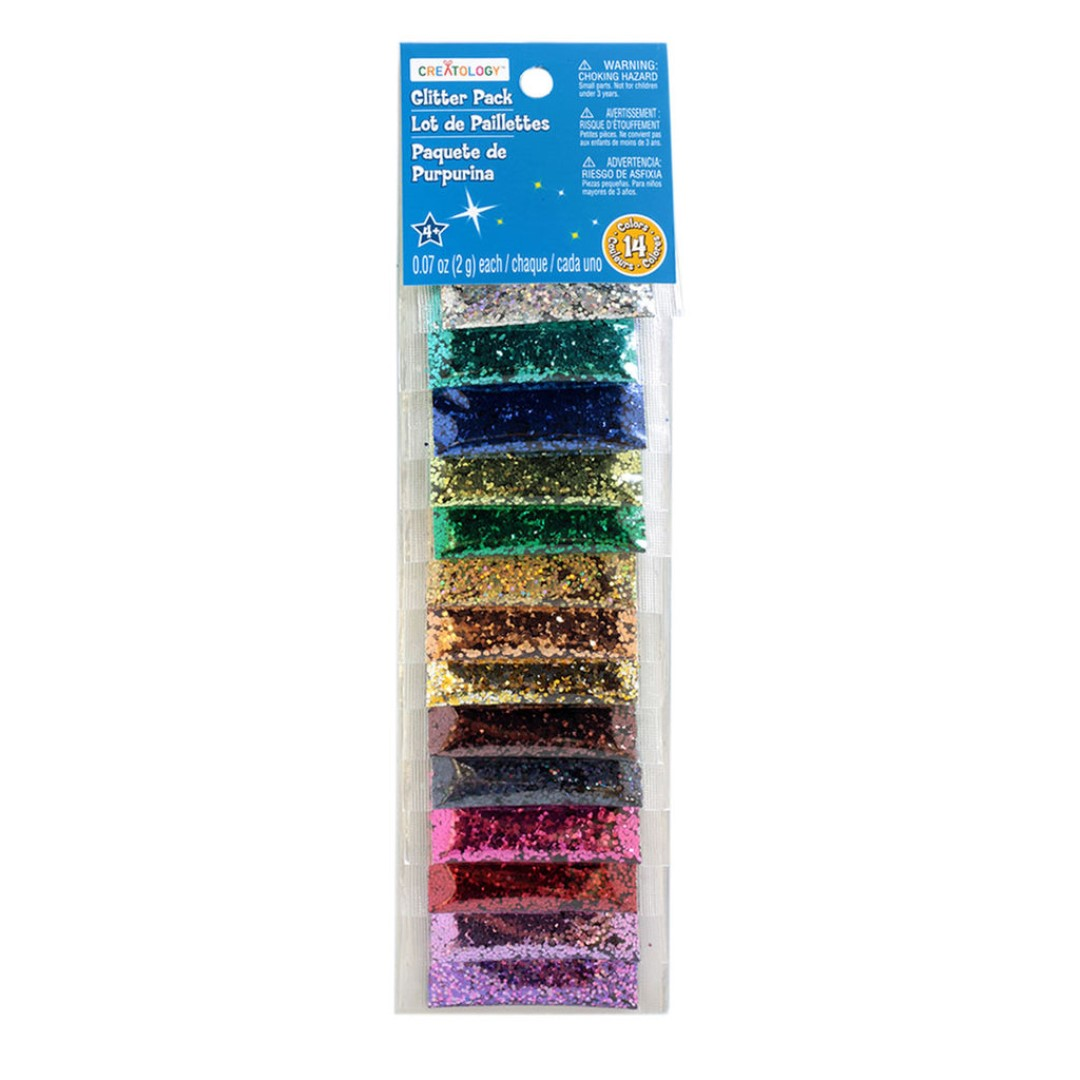 Creatology Glitter Pack (14 Colours)