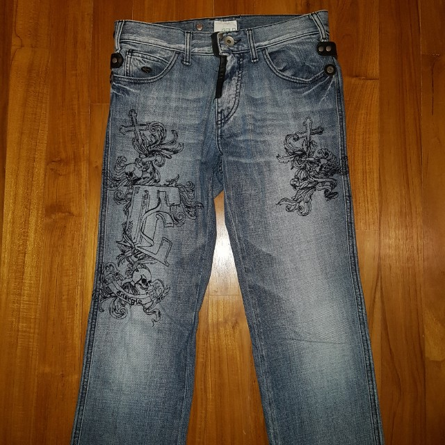 Designer Men S Jeans One Of A Kind Design Men S Fashion Clothes On Carousell