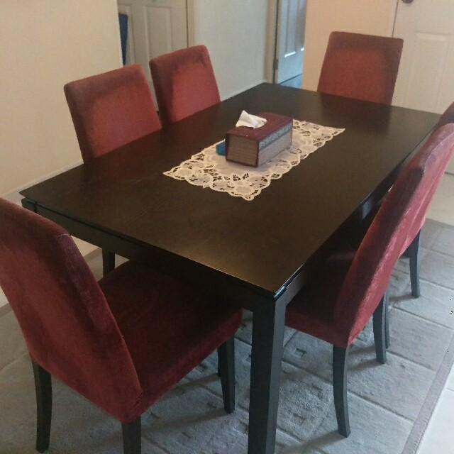 Dining Table Chairs Set Furniture Tables Chairs On Carousell