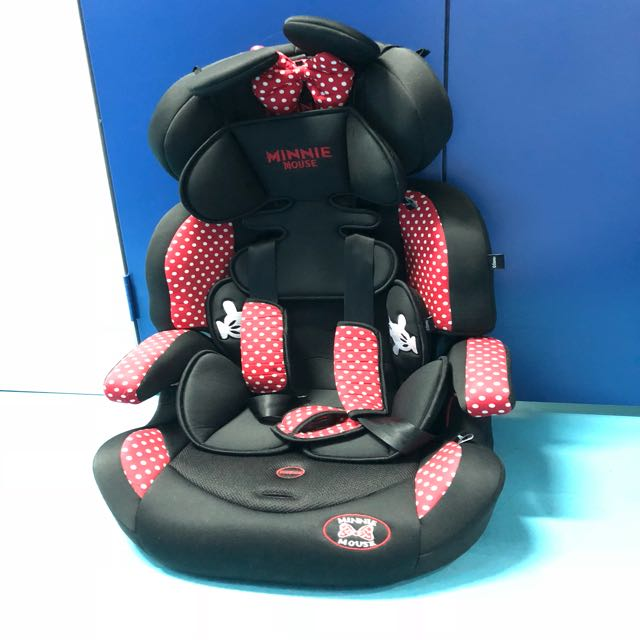 Disney Minnie Mouse Booster Car Seat
