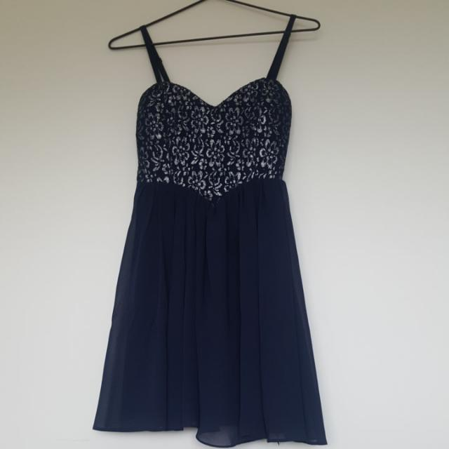 DOTTI 8 Blue Dress