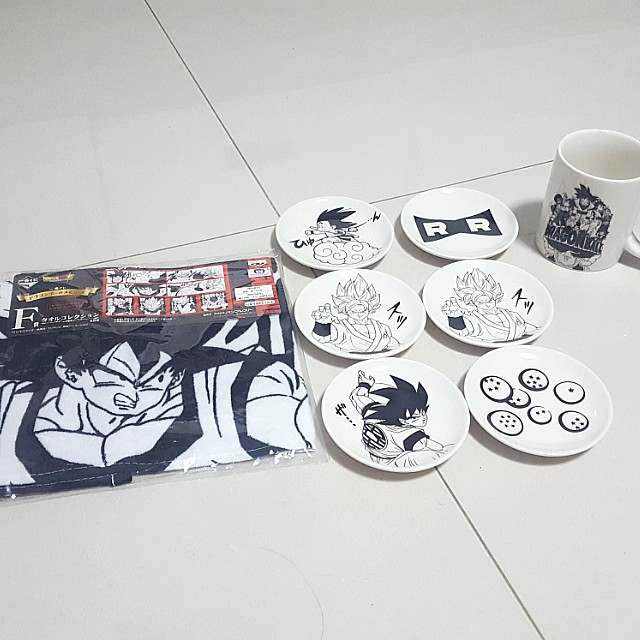 Dragonball Z Ichiban Kuji Prize D, E & F