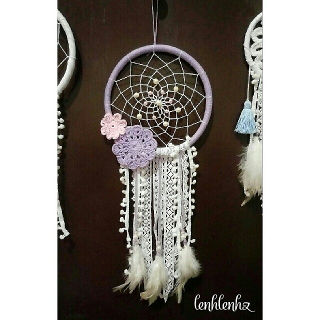Dreamcatcher wall decoration shabby chic