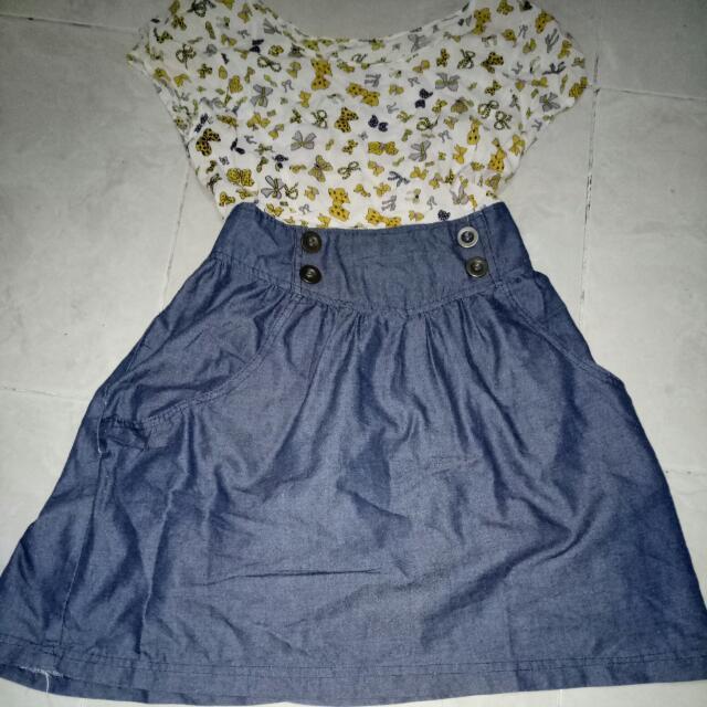 Dress Anak Perempuan Pita
