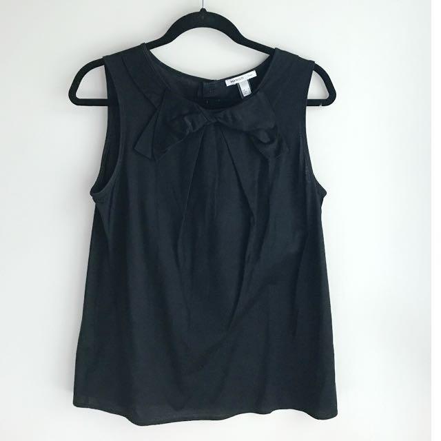 Dressy MANGO sleeveless top