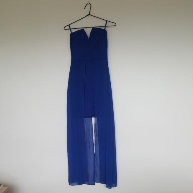 Electric Blue DOTTI 6 Dress