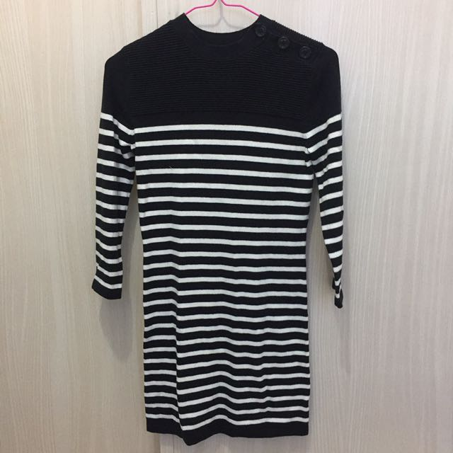 F21 Stripes dress