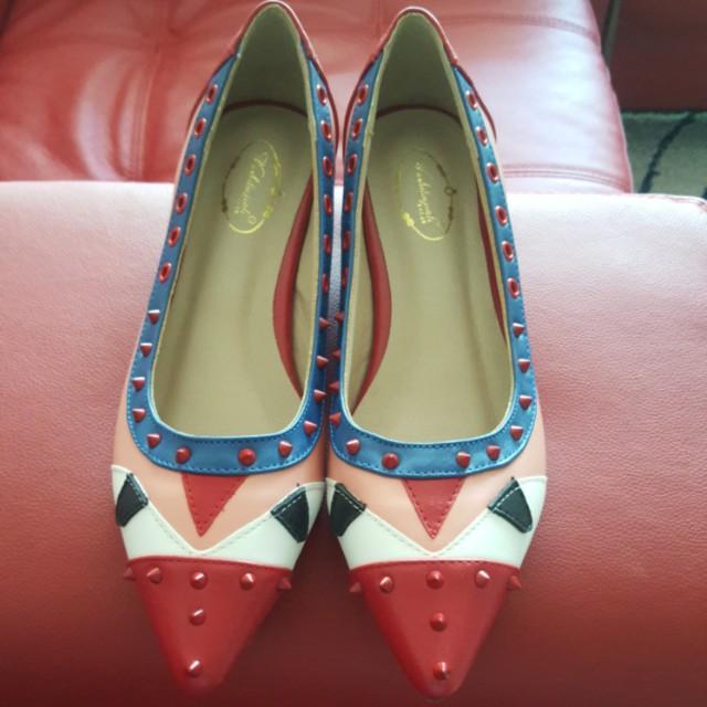 Fendi inspired shoes