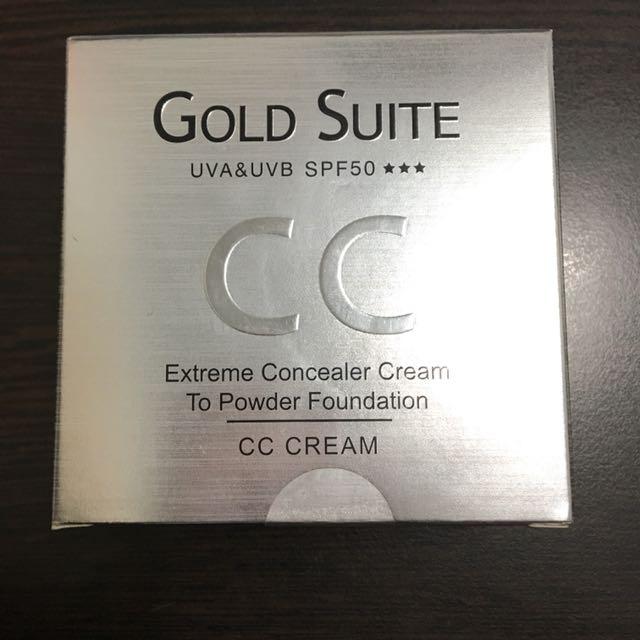 Gold Suite極致遮瑕完美粉凝霜