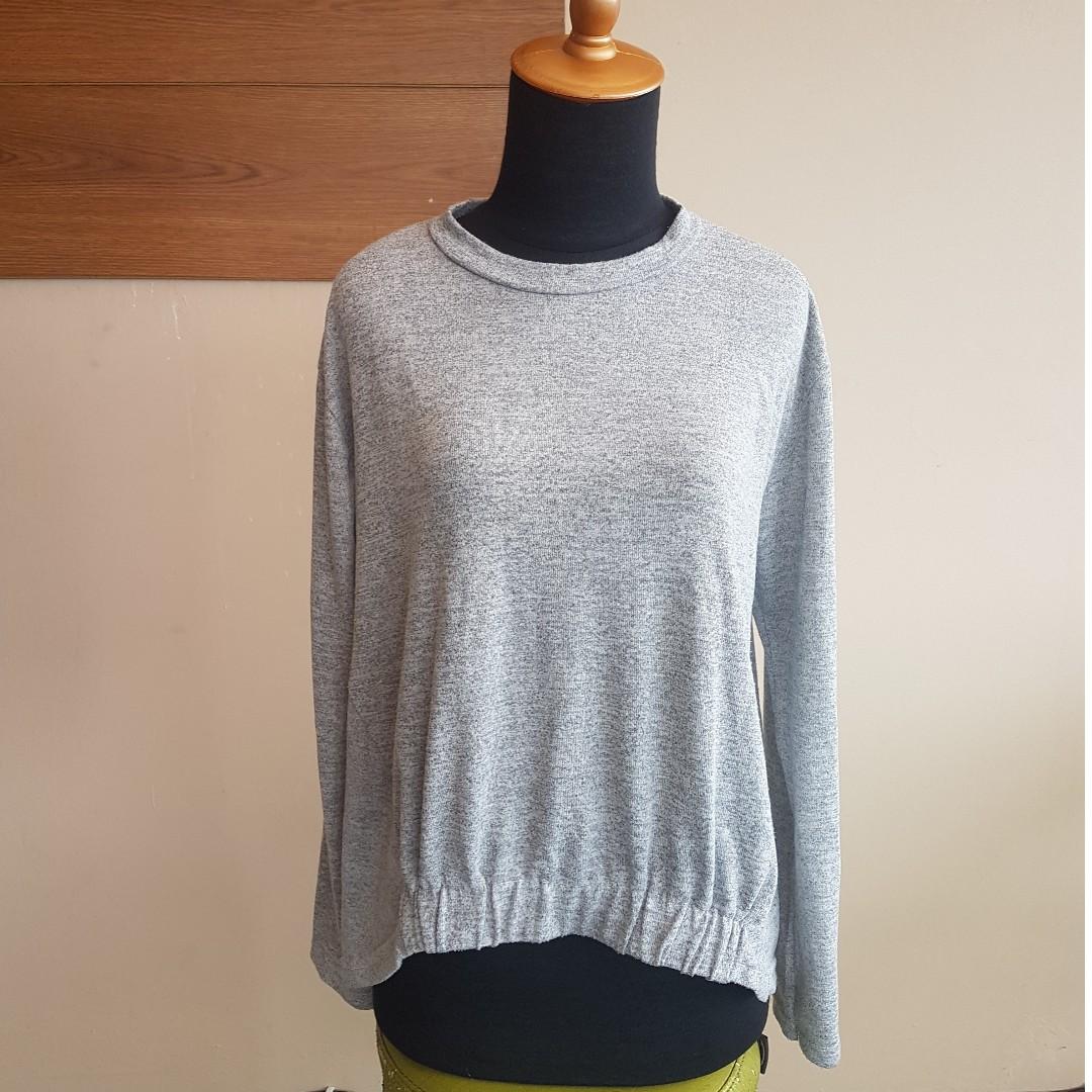 Grey Misty Penguin Sweatshirt