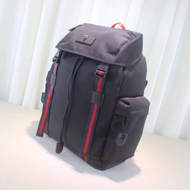e5f044c1702dcc Gucci Techno Canvas Backpack, Men's Fashion, Bags & Wallets, Wallets on  Carousell