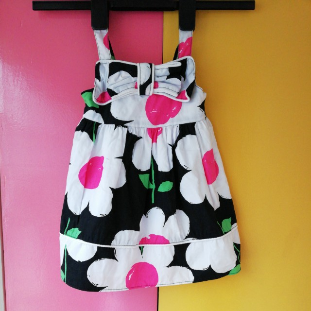 GYMBOREE - Bow Tie Floral Dress