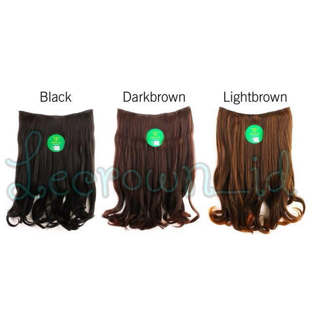 Hair clip wave (wave bawah)