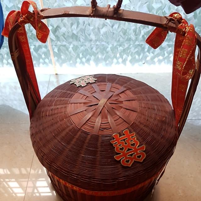 Happiness Guo Dai Li Rattan Basket