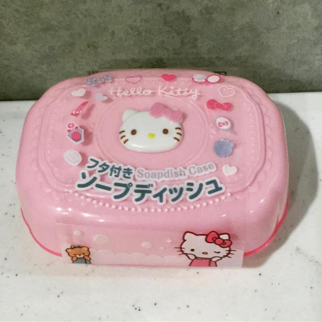 Hello kitty soap case