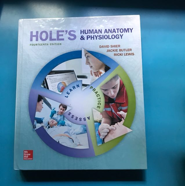 Hole\'s Human Anatomy and Physiology 14th edition, Books & Stationery ...