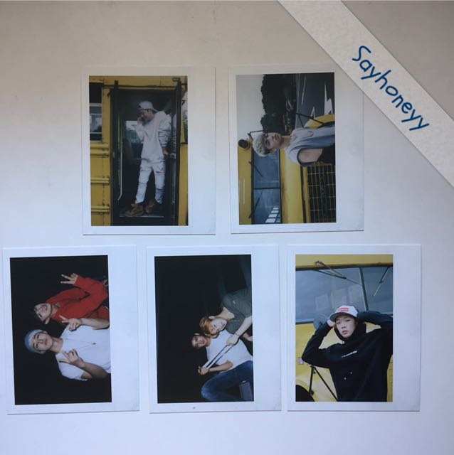 iKON iKONCERT Special Edition pb polaroid