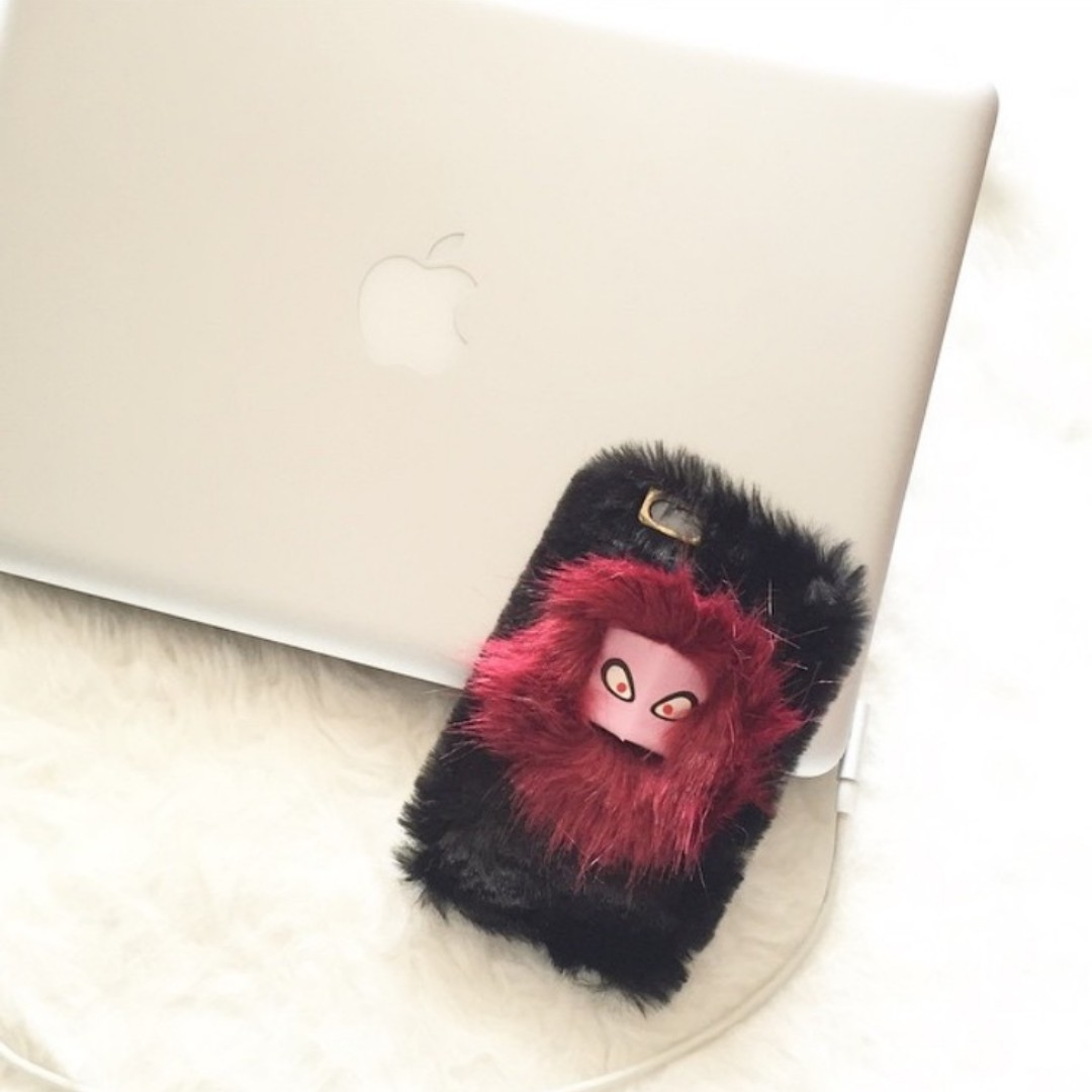 Iphone 6 Fur Monster Case