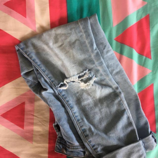 Jays jays denim ripped jeans