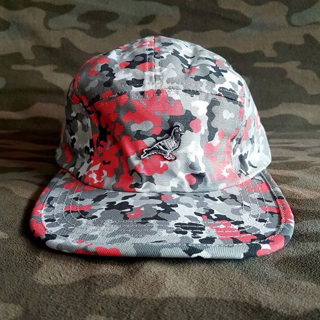 Jeff Staple Hat Pigeon Camo Panel Snapback Trendy Fashion Cap