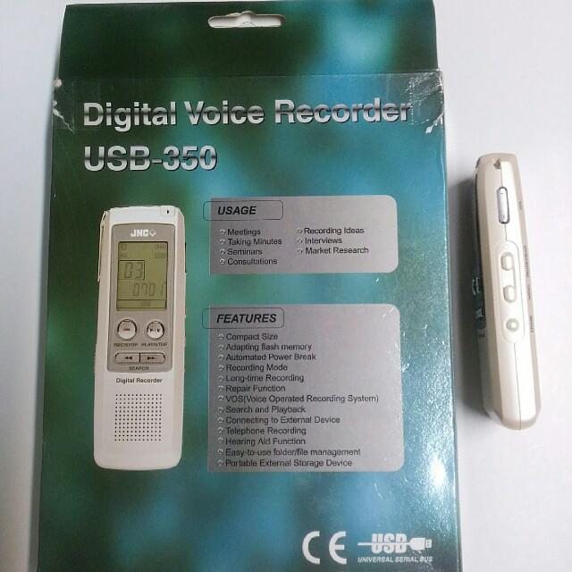 jnc digital voice recorder driver