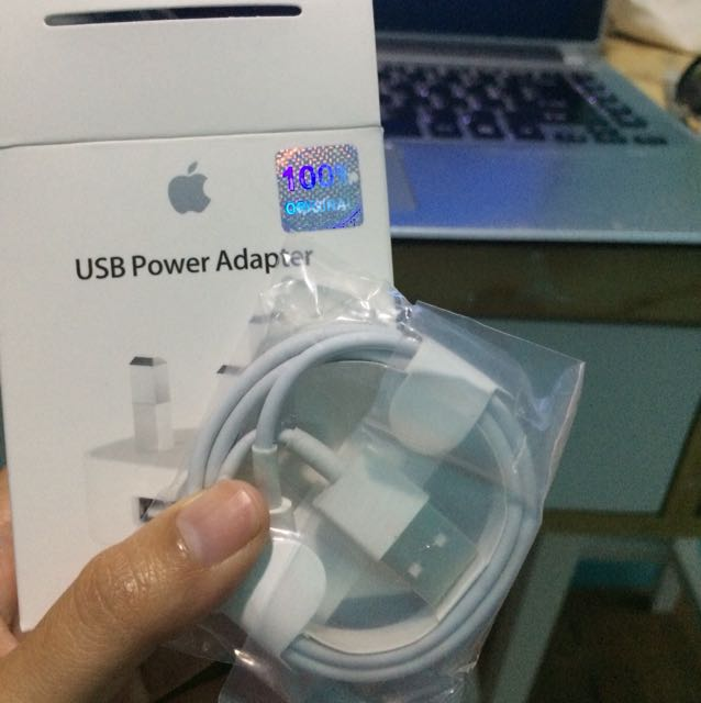 Kabel charger iPhone