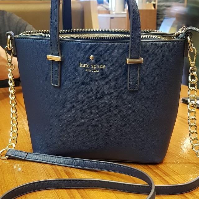 Kate Spade Navy Blue Bag Class A Women S Fashion Bags Wallets On Carou