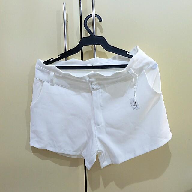 Korean style White Short