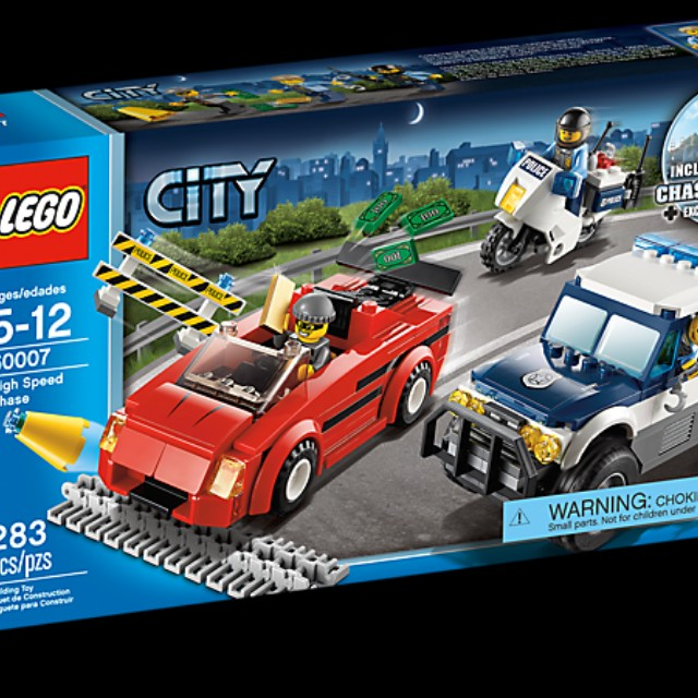 LEGO City high speed chase 60007, Toys & Games, Toys on Carousell