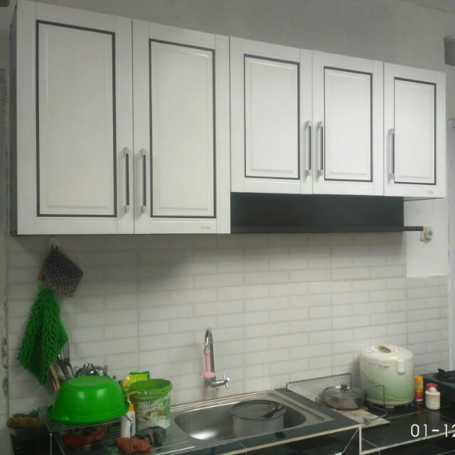 Lemari Gantung Dapur Minimalis Perabotan Rumah Di Carousell