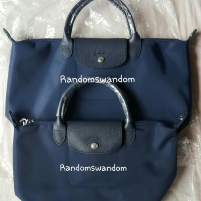 Longchamp neo medium small @ Php 900 each