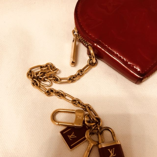 Louis Vuitton Red Hearted Coin purse