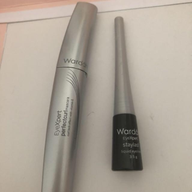 Mascara Wardah Liquid Eyeliner Kesehatan Kecantikan Rias Wajah