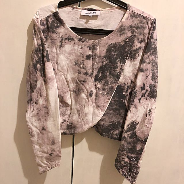 MAURIE AND EVE 'cosmic' printed long sleeve sz 8